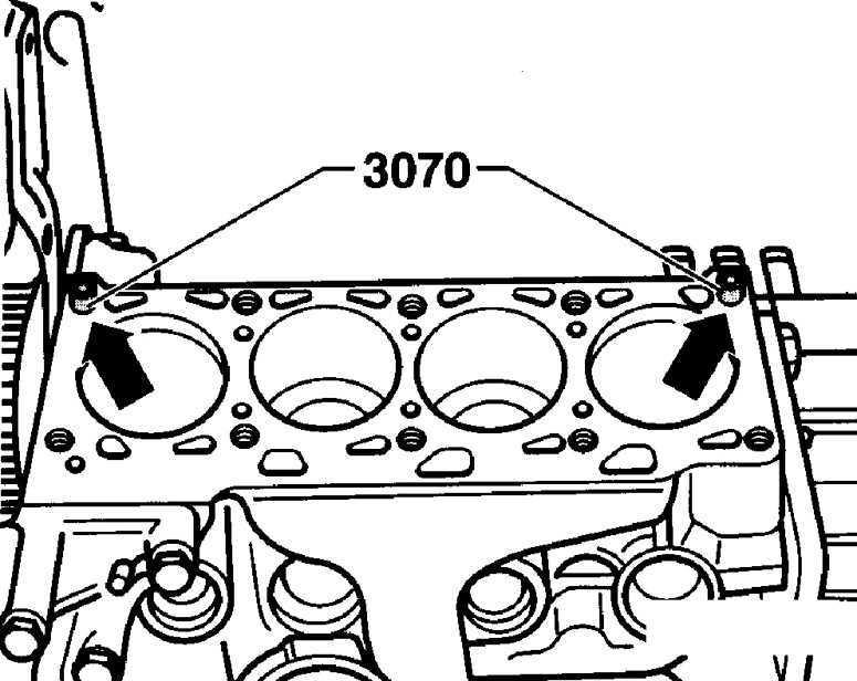 Ремонт Фольксваген Пассат : Головка блока цилиндров VW