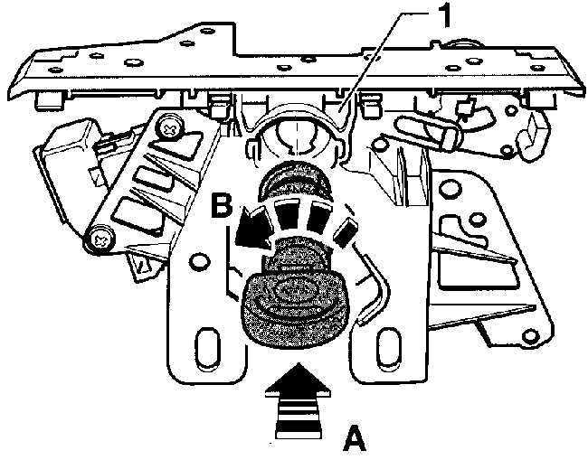 Ремонт Фольксваген Пассат : Цилиндр замка задней двери VW
