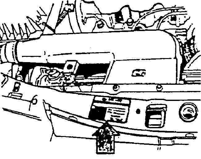 Ремонт Дэу Нексия : Идентификационный номер автомобиля