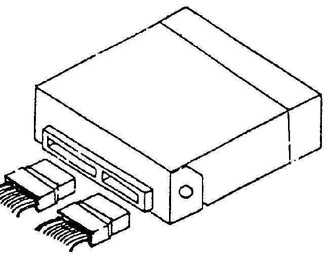 Ремонт Дэу Нексия: Электронный блок управления и датчики