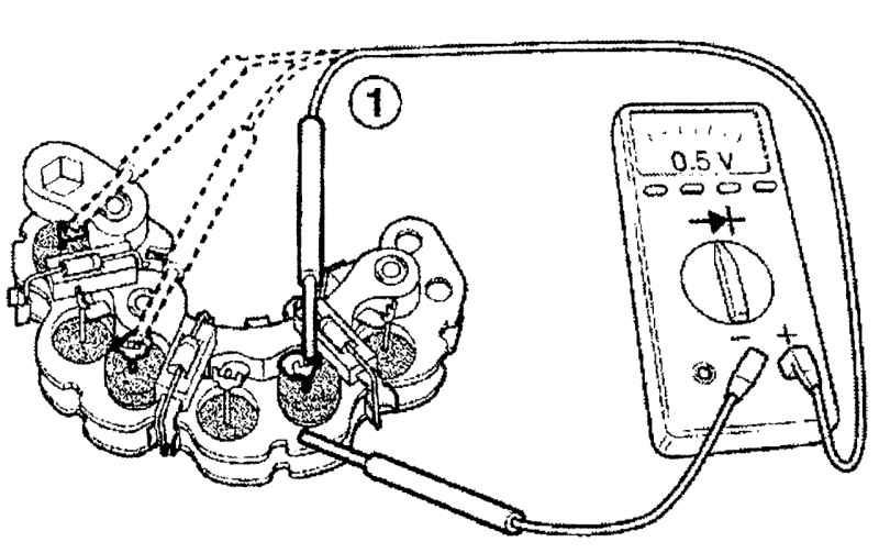 Ремонт Дэу Матиз : Ремонт и проверка генератора типа В