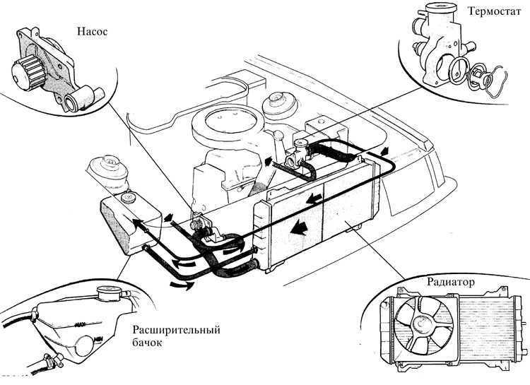 Ремонт Форд Эскорт Замена охлаждающей жидкости Ford Escort