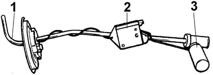 Ремонт Форд Эскорт : Топливный бак Ford Escort