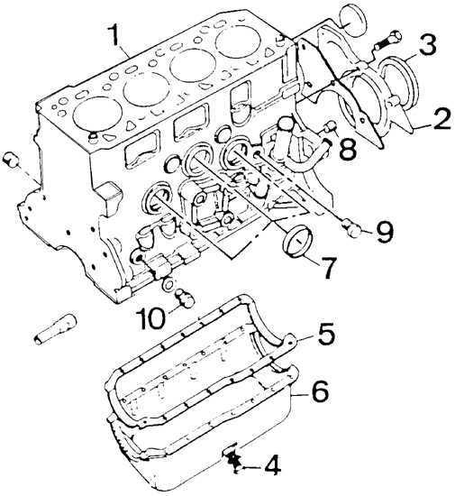 Ремонт Форд Эскорт: Разборка двигателя 1,6 дм3 Ford Escort