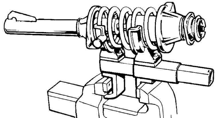 Ремонт Форд Эскорт : Снятие и установка амортизатора и