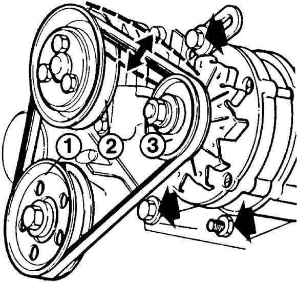 Ремонт Форд Эскорт: Генератор Ford Escort. Описание, схемы