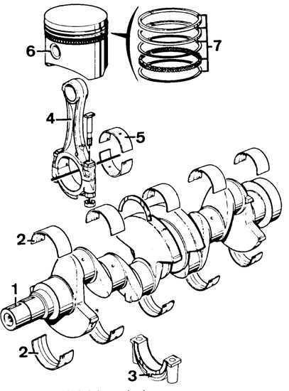 Ремонт Форд Сиерра: Сборка двигателя Ford Sierra. Общая