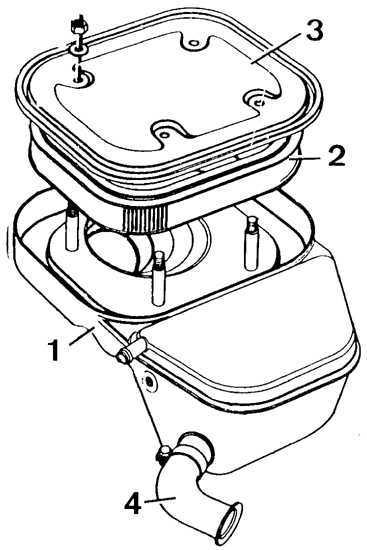 Ремонт Форд Сиерра : Топливный насос, установка начала