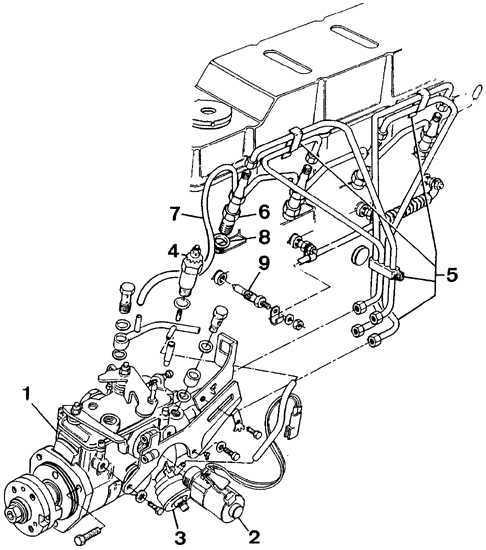 Ремонт Форд Сиерра: Топливная система Ford Sierra