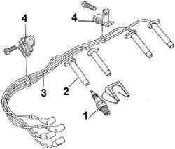 Ремонт Форд Скорпио : Распределитель зажигания Ford Scorpio
