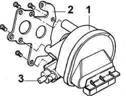 Ремонт Форд Скорпио : Шаговый двигатель карбюратора Ford