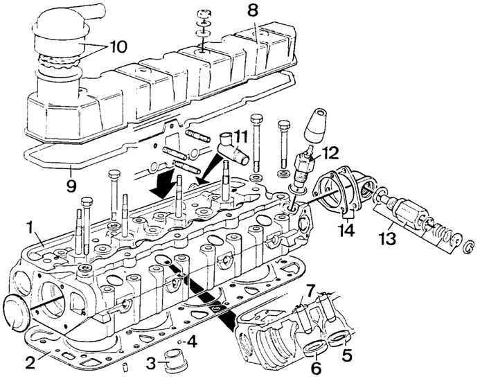 Ремонт Форд Скорпио: Головка блока цилиндров Ford Scorpio