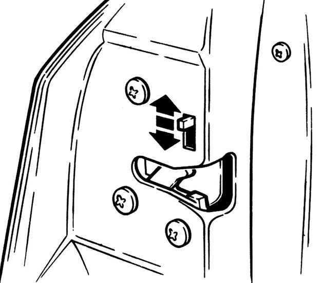 Ремонт Форд Скорпио: Двери автомобиля Ford Scorpio