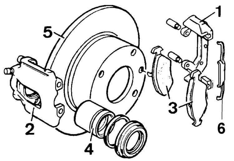 Ремонт Форд Скорпио: Передние тормоза Ford Scorpio