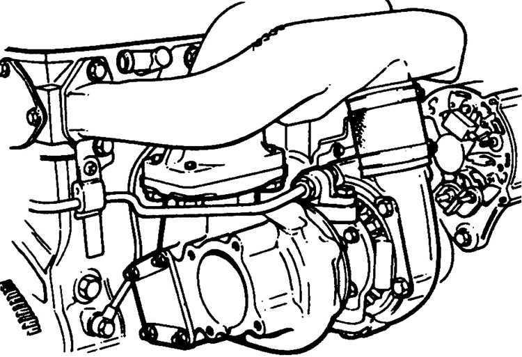 Ремонт Форд Скорпио : Турбокомпрессор Ford Scorpio