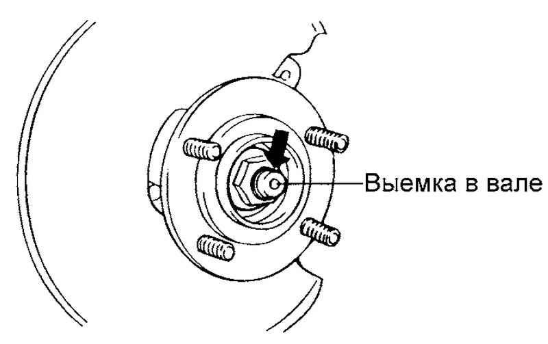 Ремонт Хендай Матрикс : Ступица заднего колеса Hyundai Matrix
