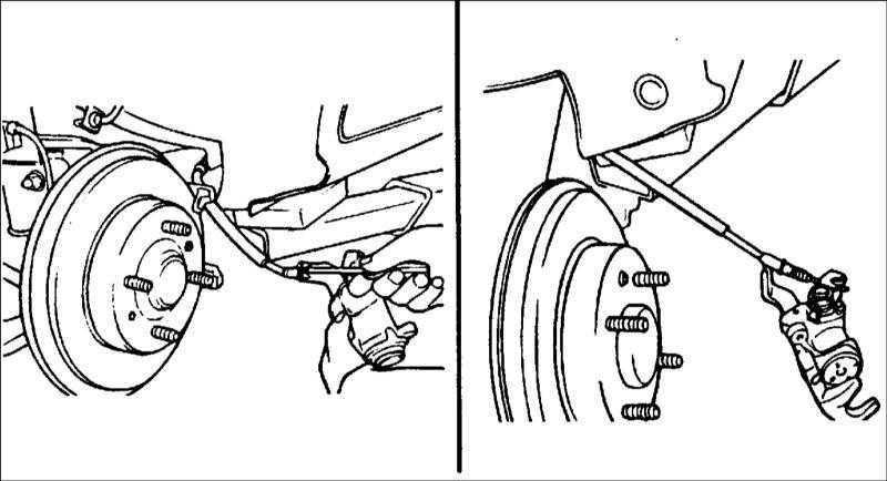 Ремонт Хендай Элантра : Задние дисковые тормоза Hyundai