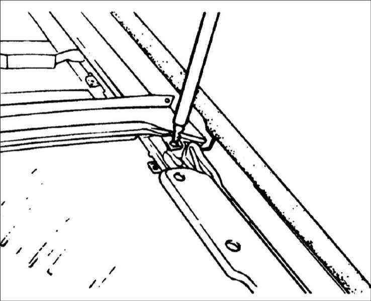 Ремонт Хендай Элантра : Люк крыши Hyundai Elantra