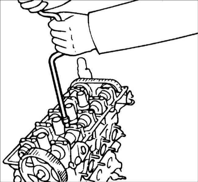 Ремонт Хендай Элантра : Распределительные валы Hyundai Elantra