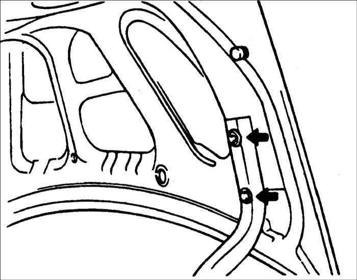 Ремонт Хендай Акцент : Крышка багажника Hyundai Accent