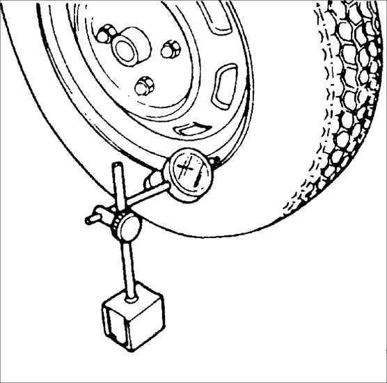 Ремонт Киа Рио : Биение колес Kia Rio