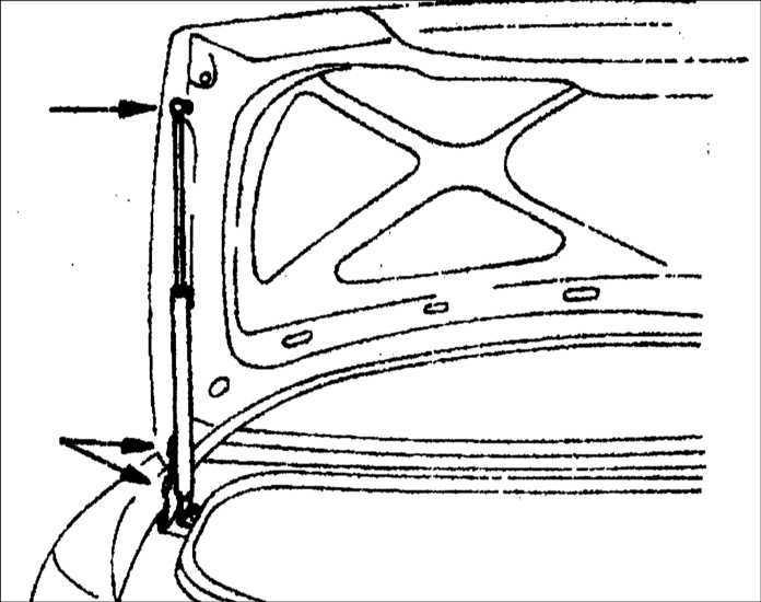 Ремонт Киа Кларус : Крышка багажника Kia Clarus