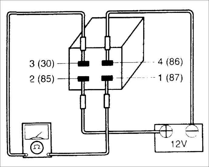 Ремонт Киа Сефия : Проверка реле компрессора кондиционера