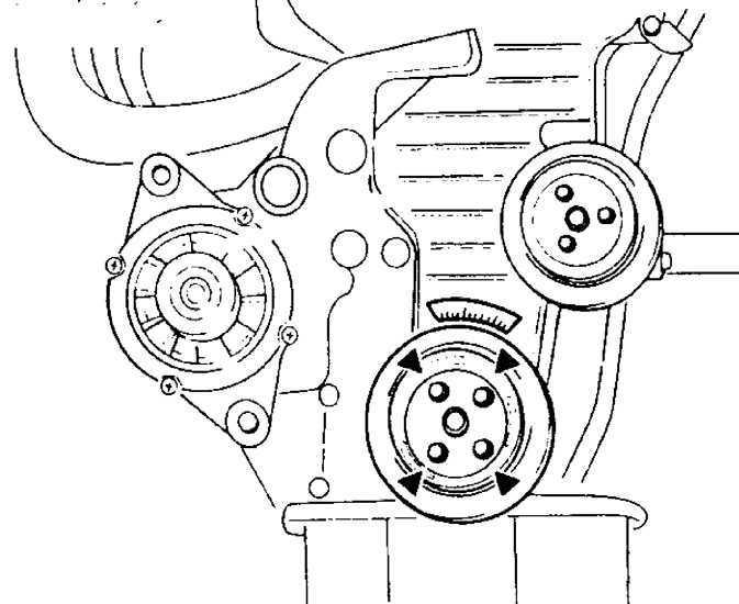 Ремонт Киа Сефия : Зубчатый ремень Kia Sephia