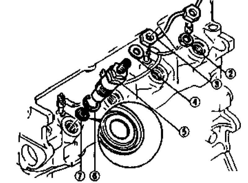 Ремонт Киа Спортейдж : Снятие и установка форсунок Kia