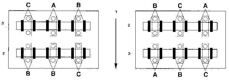 Ремонт Мазда 626 : Проверка и регулировка зазоров клапанов