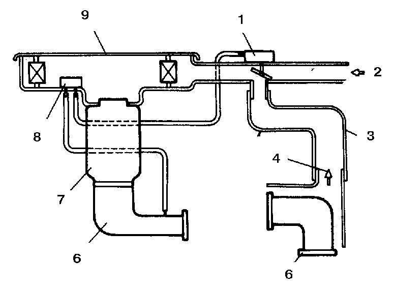 Ремонт Мазда 626: Топливная система Mazda 626. Общая