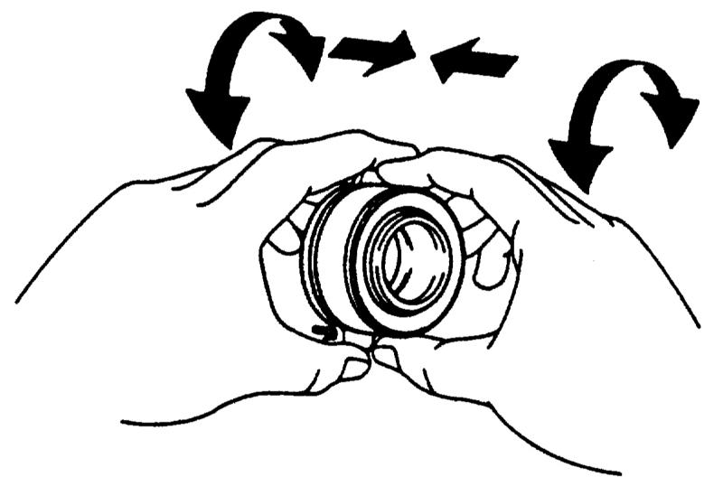 Ремонт Мазда 323 : Снятие и установка/проверка выжимного