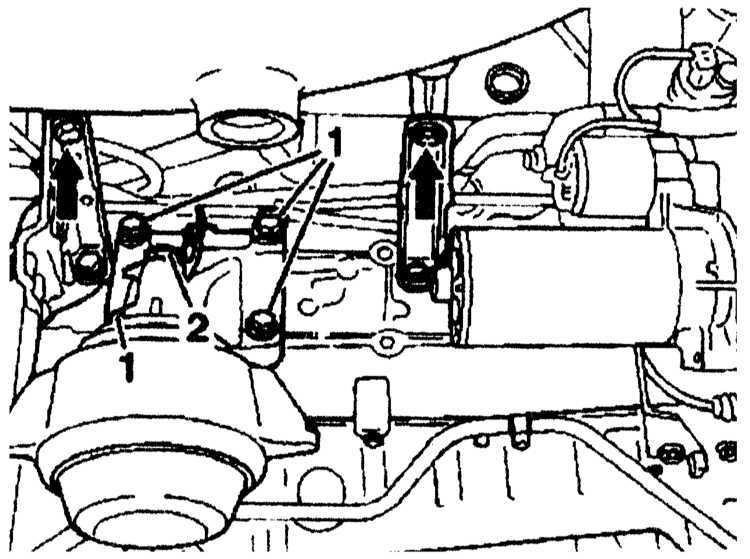 Ремонт Мерседес 140: Снятие и установка головки блока