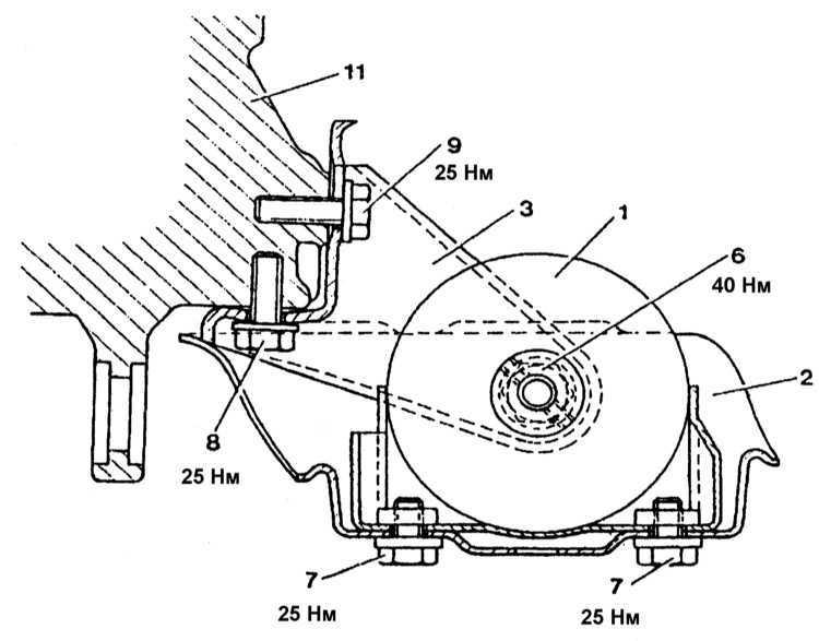 Ремонт Мерседес 140 : 6-цилиндровые дизельные двигатели