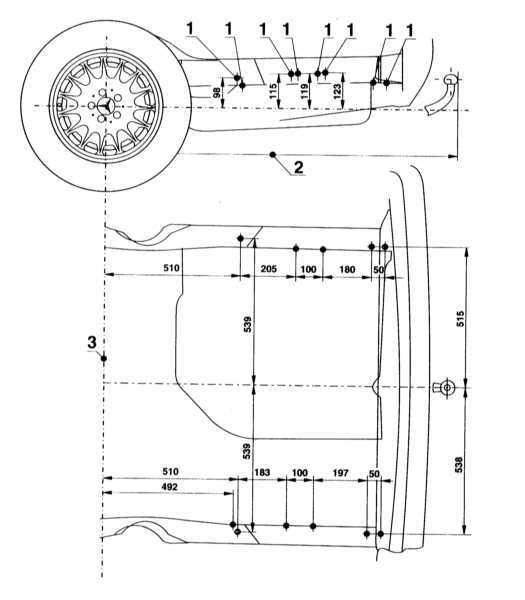 Ремонт Мерседес 140 : Спецификации Mercedes W140