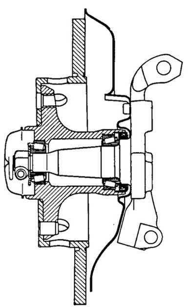 Ремонт Мерседес 124 : Ступица переднего колеса Mercedes W124