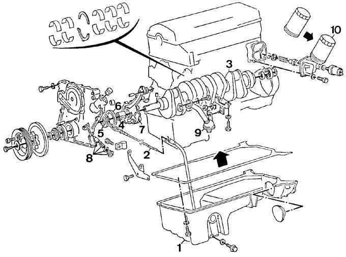Ремонт Мерседес 124: Масляный поддон Mercedes W124
