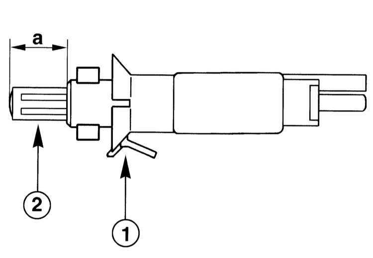 Ремонт Мерседес 203 : Снятие и установка выключателя стоп