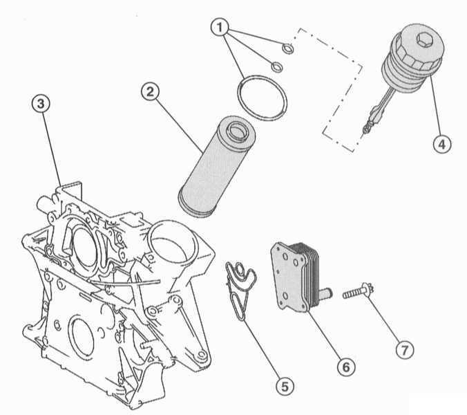 Ремонт Мерседес 203 : Система смазки двигателя Mercedes W203