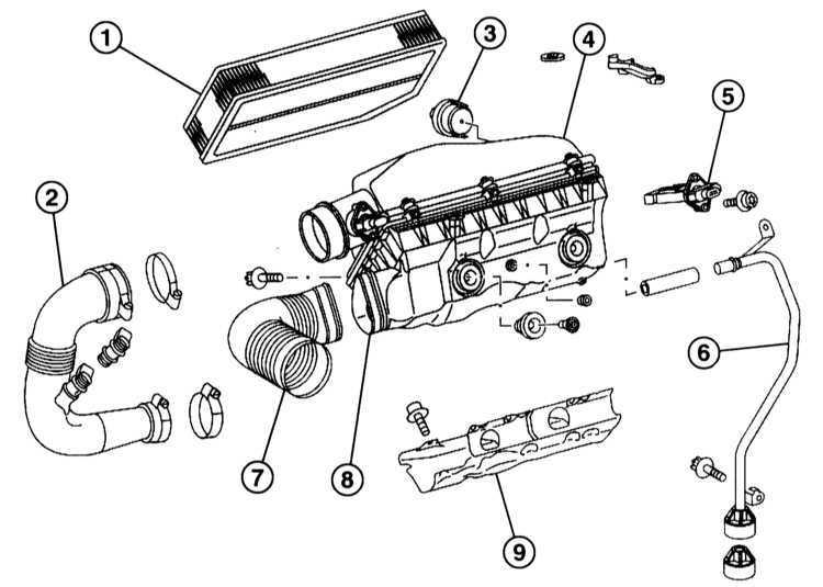 Ремонт Мерседес 203 : Снятие и установка воздушного
