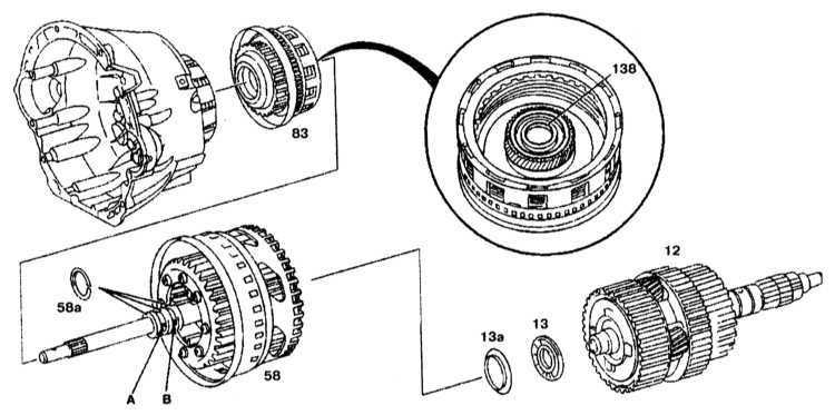 Ремонт Мерседес 203 : Снятие и установка многодисковых
