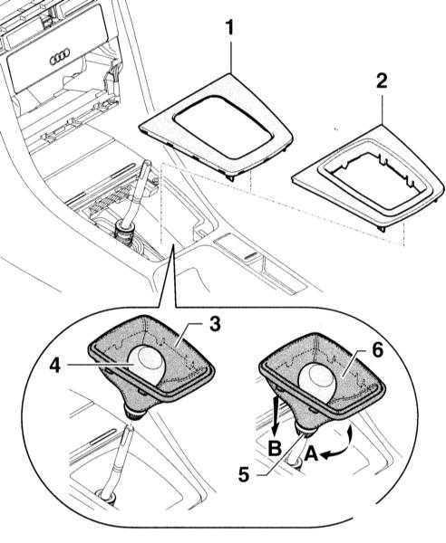 Ремонт Ауди А4 : Оборудование салона Audi A4