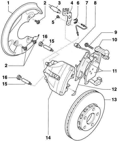 Ремонт Ауди А4: Тормозная система Audi A4. Описание, схемы