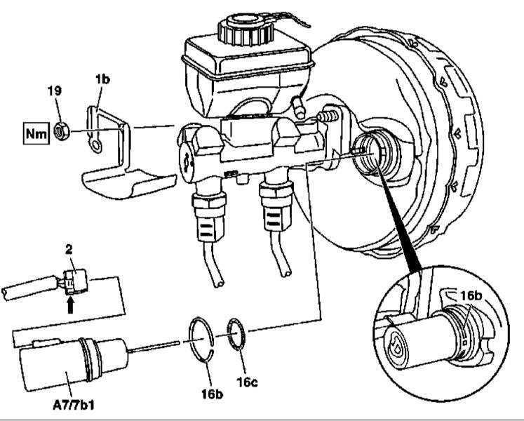 Ремонт Мерседес 163 : Снятие и установка вакуумного