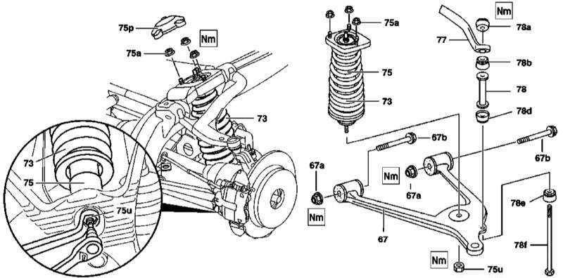 Ремонт Мерседес 163 : Снятие, разборка и установка задних
