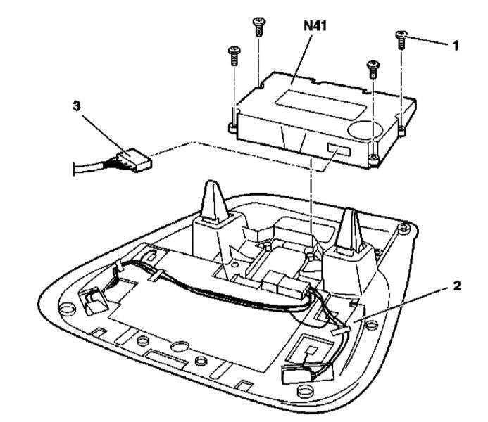 Ремонт Мерседес 163 : Снятие и установка сборки путевого