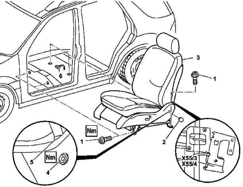 Ремонт Мерседес 163 : Снятие и установка сборок передних