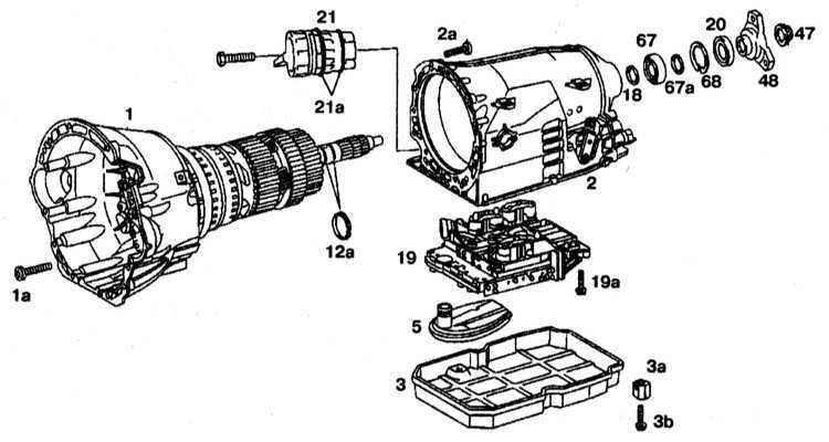 Ремонт Мерседес 220: Автоматическая трансмиссия Mercedes