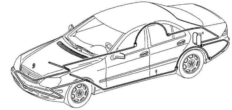 Ремонт Мерседес 220 : Система пожаротушения Mercedes W220