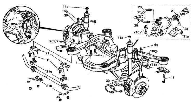 Ремонт Мерседес 220 : Передняя подвеска Mercedes W220
